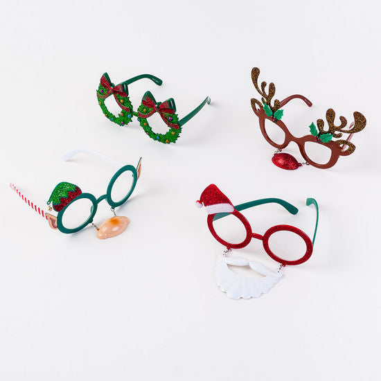 Holiday Fun Decorated Eye Glasses - 4 Styles to Choose