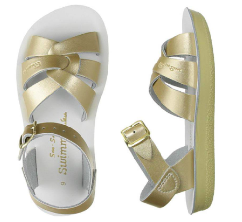 Swimmer Salt Water Sandals - Gold