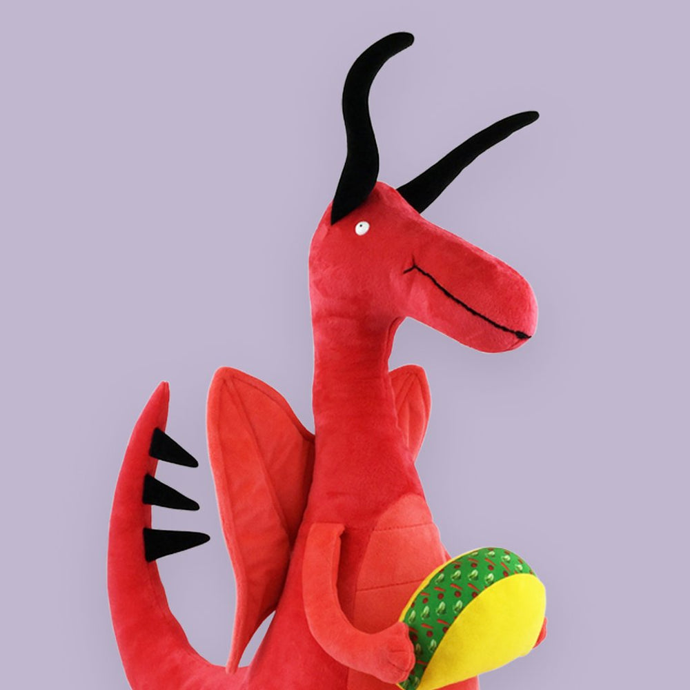 Dragons Love Tacos Giant Doll- Plush