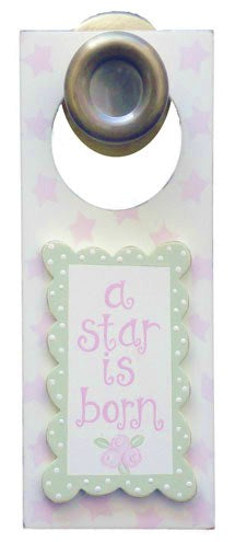 A Star Is Born- Girl - Door Hanger - 921-DH