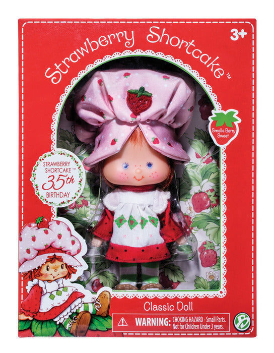 "6"" Retro Strawberry Shortcake Doll"