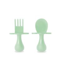 First Self Feeding Utensil Set - Mint