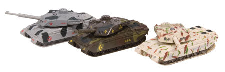 Diecast Light & Sound Tanks - 3 Colors to Choose
