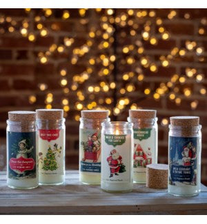 Christmas Spice Jar Candle - 6 Fragrances to Choose