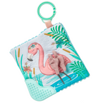 "Tingo Flamingo Crinkle Teether - 6"" X 6"""
