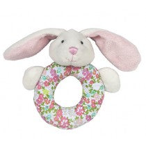 Soft Ring Rattle - Beth the Bunny
