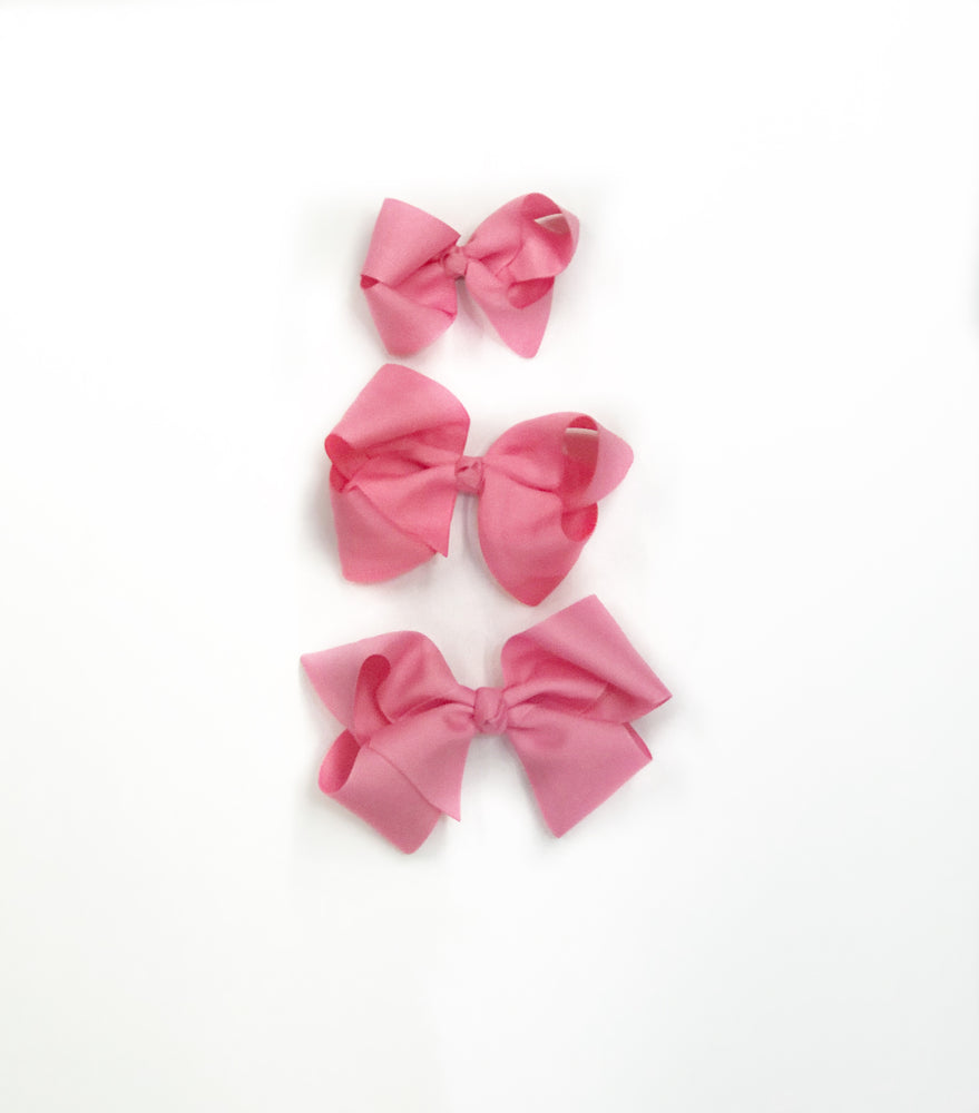 "Bubblegum Pink Hair Bow - Choose Size (3""-8"")"
