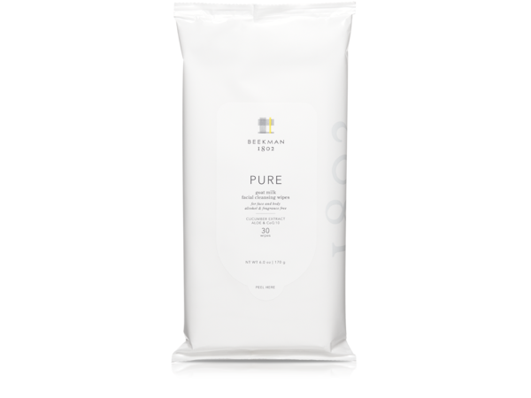 Pure Goat Milk Facial Cleansing Wipes - 30 count