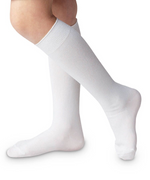 Classic Knee High White Socks - Select Size