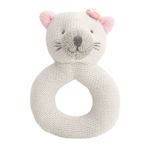 Knit Ring Rattles- 5 Characters Available