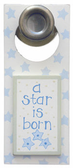 A Star Is Born- Boy - Door Hanger -903-DH