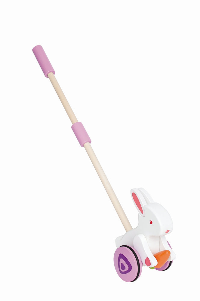 Bunny Wooden Push Or Pull Stick