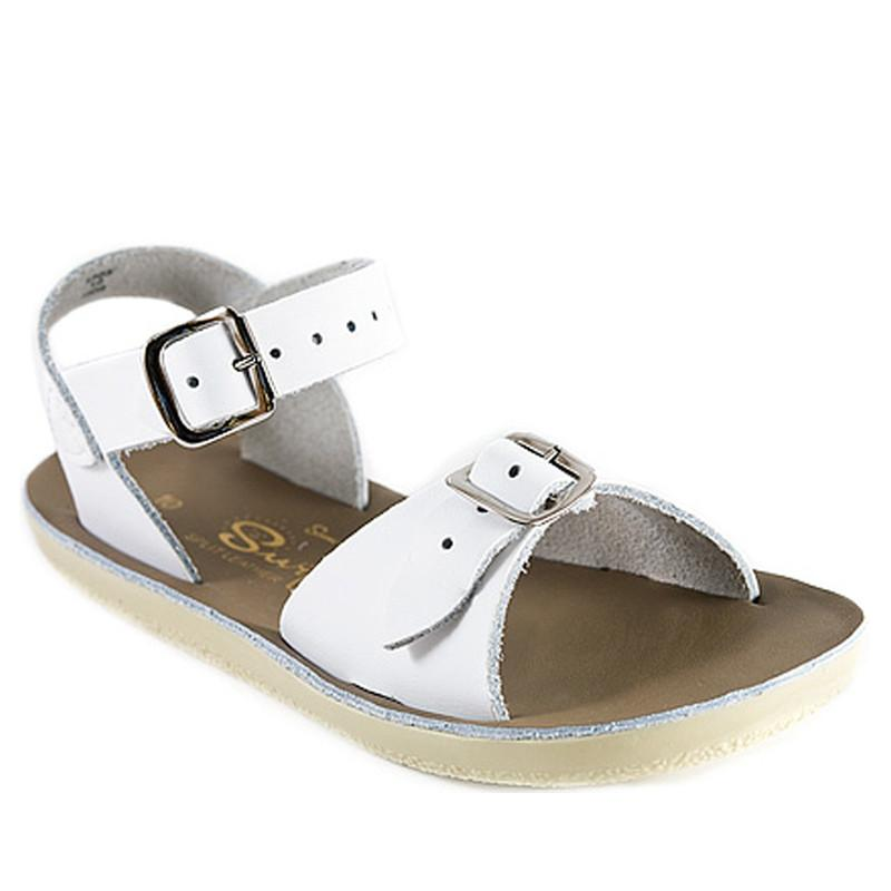 Surfer Salt Water Sandals - White