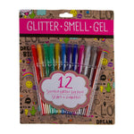 Scented Glitter Gel Pens- 12 Pack