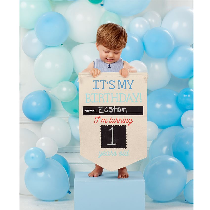Birthday & School Personalized Banner