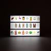 Random Style Letter Pack - Fits Light Box A5