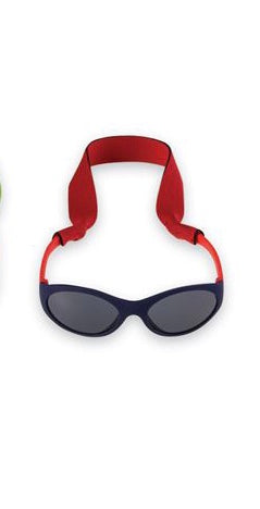 Navy Blue Boys' Sunglasses & Strap Set