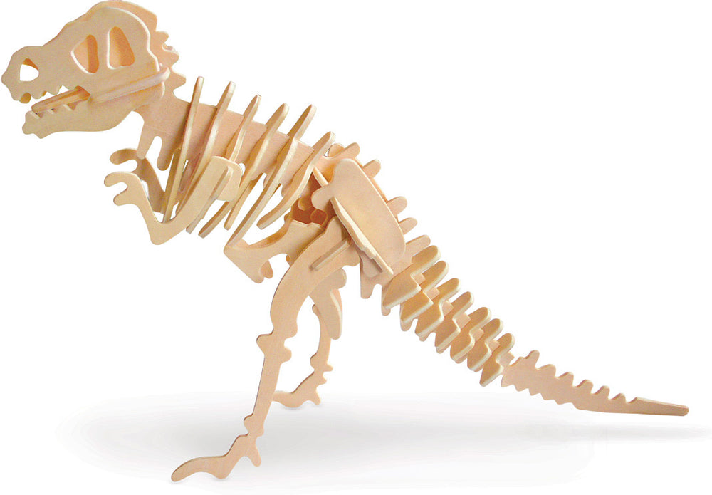 3-D Puzzle Dinosaur - 6 Styles to Choose