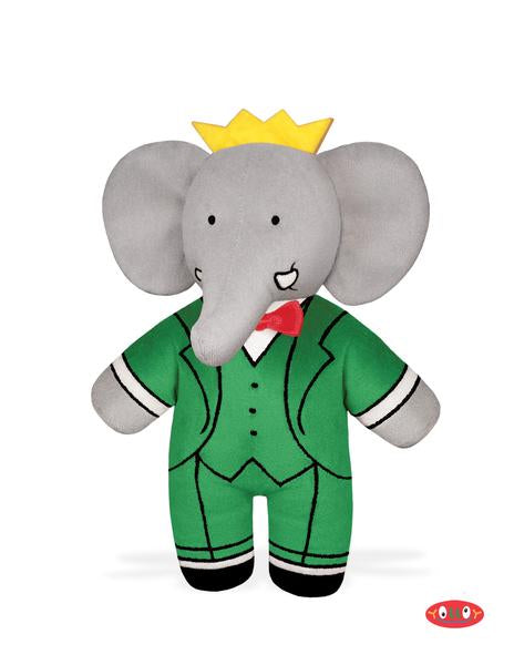 "Babar 9.25"" Bean-Filled Soft Toy"