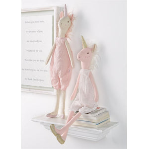 Load image into Gallery viewer, Large Pink Unicorn Doll
