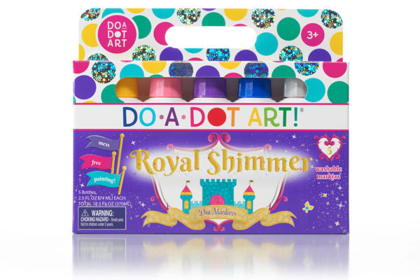 Royal Shimmer 5 Pack Dot Markers