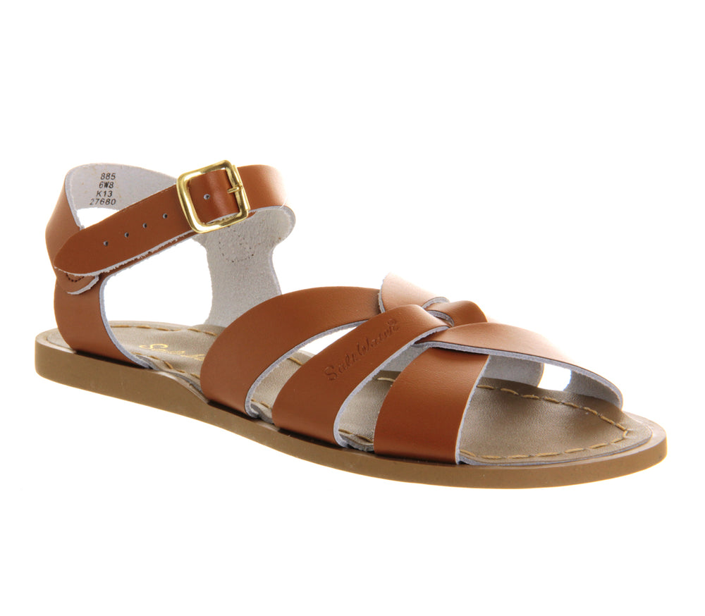 Salt Water Original Sandals- Tan -Infant to Adult Sizes