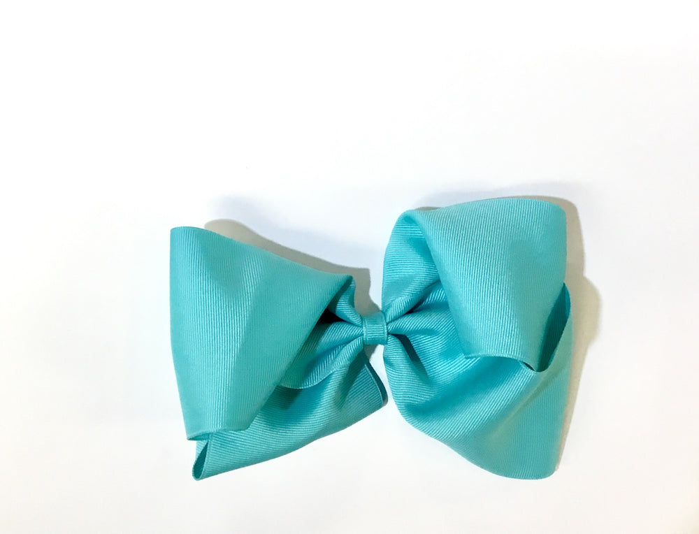 Bow - Turquoise - 4 Sizes Available