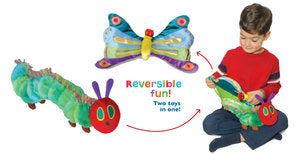 Very Hungry Caterpillar and Butterfly Plush Reversible Plush Toy