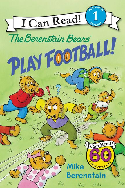 The Berenstain Bears Play Football !