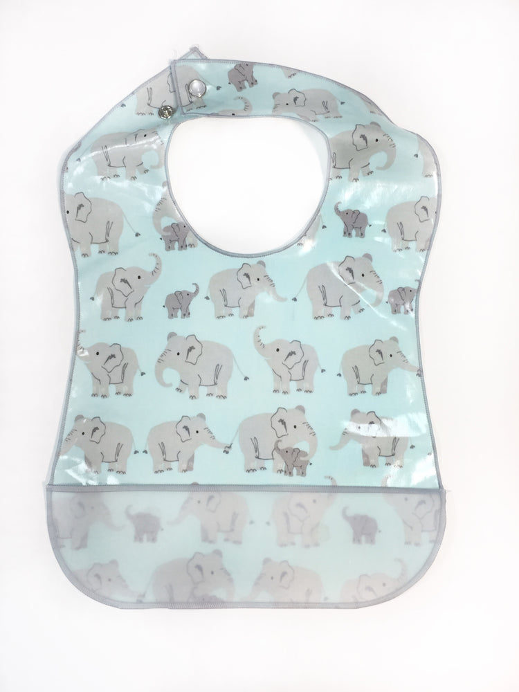 Baby Elephants - Laminate Bib - POS