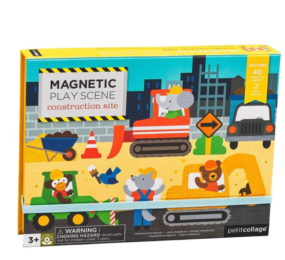 Magnetic Play Set - Construction Site