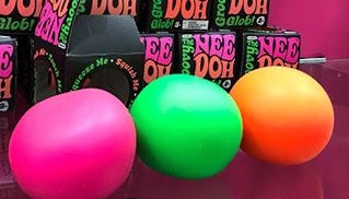 Nee Doh- The Groovy Glob!- 3 Colors To Choose