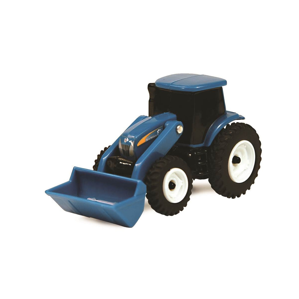 New Holland 3 Inch Collect N Play Vintage Tractor With Loader