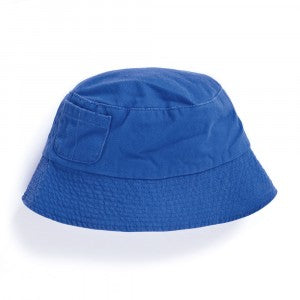 Boys' Twill Bucket Hat - Cobalt - Select Size