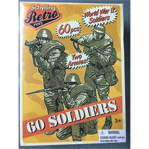 Retro 60 Soldiers-RMSP-Two Armies-WWII