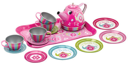 I'm a Little Tea Pot Musical Tin Tea Set