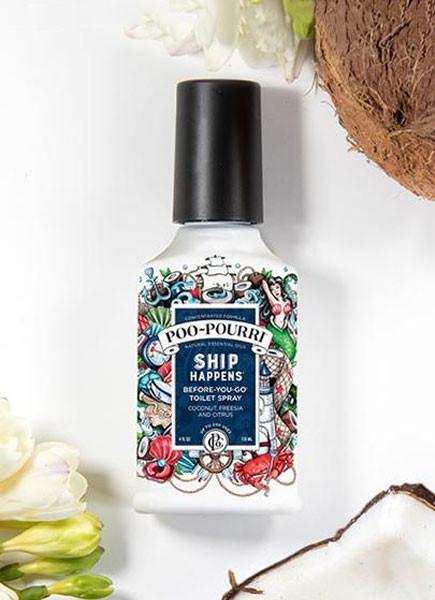 Poo-Pourri Ship Happens-4 Ounce