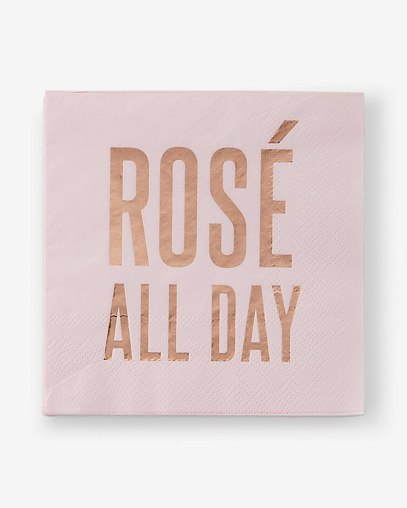Rose' All Day-Beverage Napkins-20 count