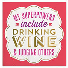 My Superpowers Include-Beverage Napkins-20 count