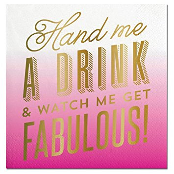 Hand Me A Drink-Beverage Napkins-20 count