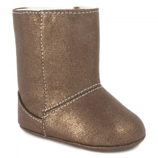 Bronze Metallic Boot
