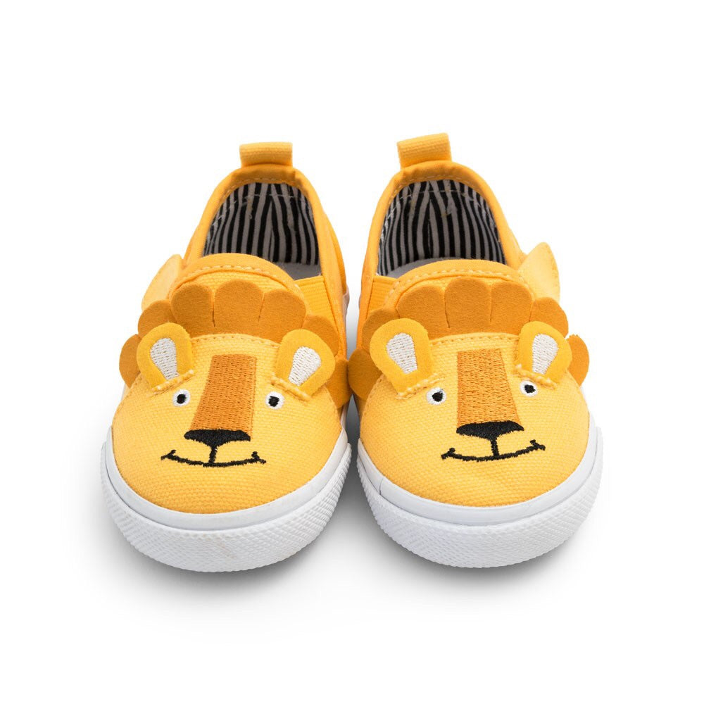 Lion Canvas Shoes - Select Size