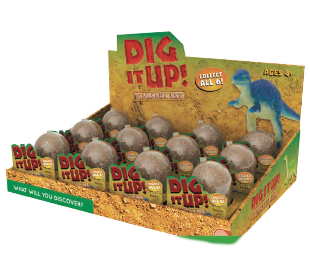 Dig It Up! Dinosaur Egg Singles