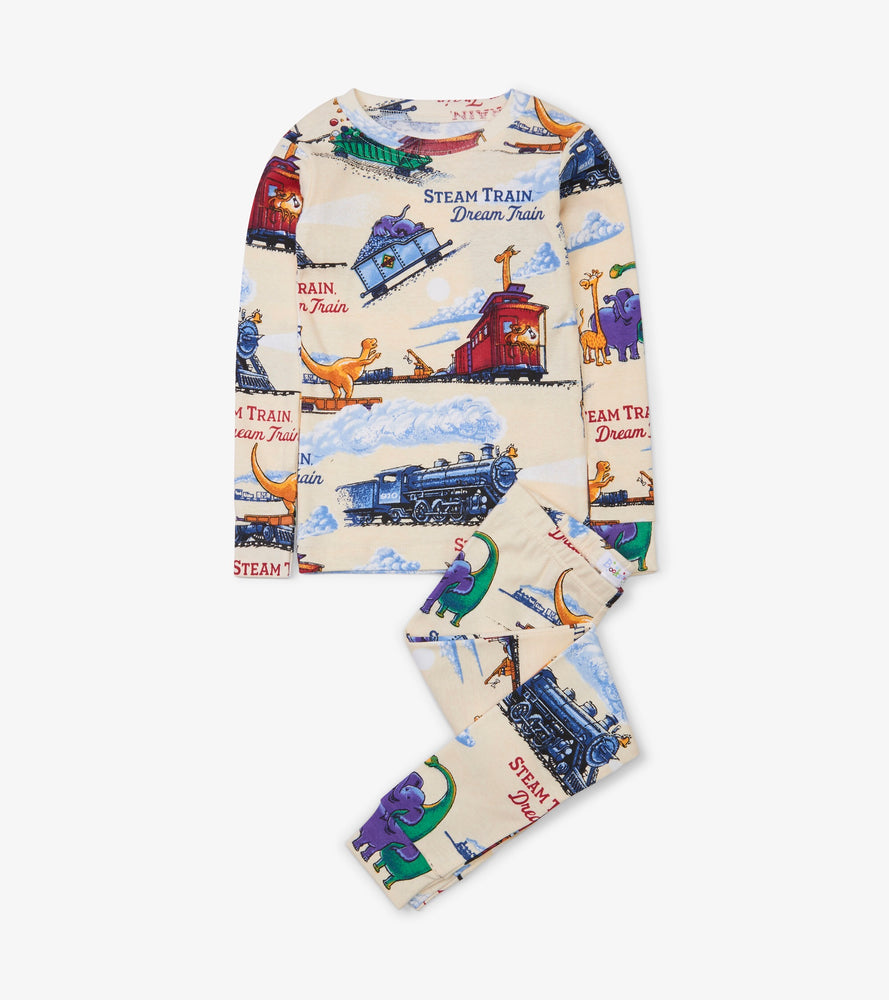 Steam Train Dream Train Pajamas