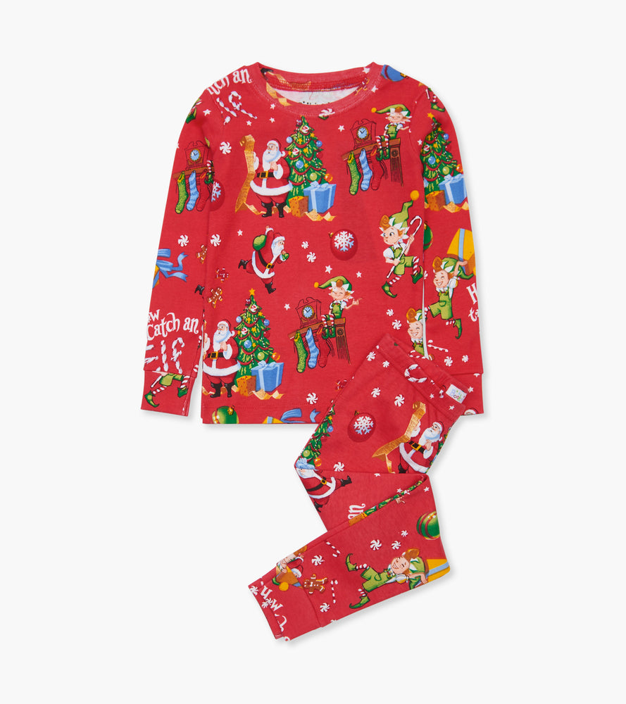 How to Catch an Elf Pajamas - Red