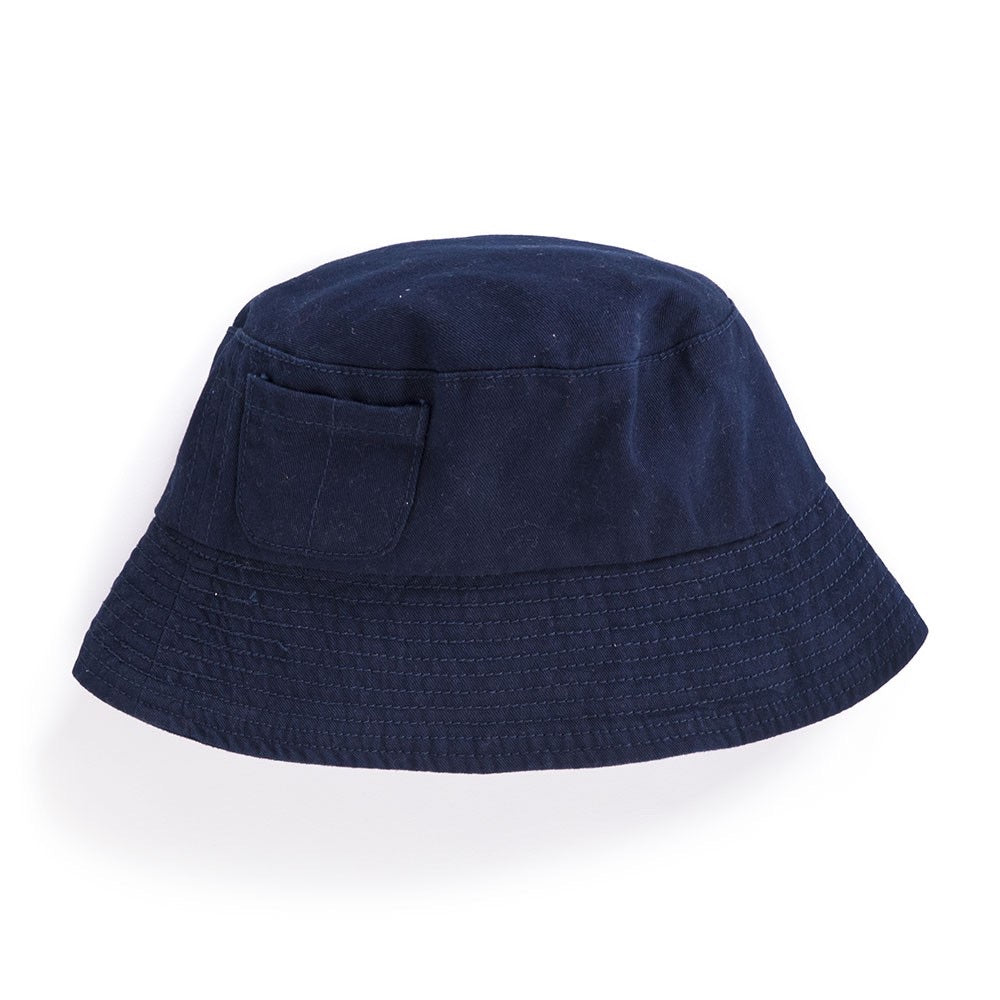 Boys' Twill Bucket Hat - Navy - Select Size
