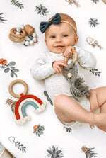 Celeste Macrame Teether - Grey
