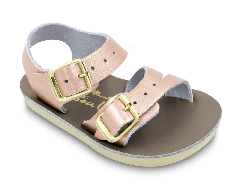 Sea Wee Salt Water Sandals - Rose Gold