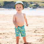 Boys' Swim Shorts with Diaper - Jungle - Select Size