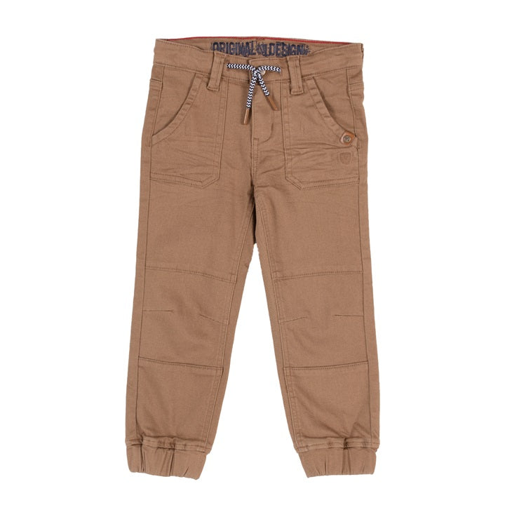 Taupe Twill Noruk Boys Jogger Pants - Select Size